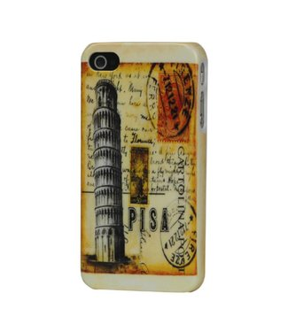 Back cover tower of pisa