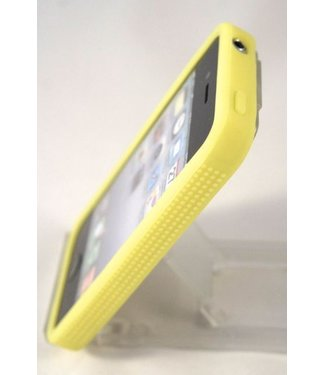 Bumper iphone 4/4s geel