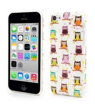 Uilenserie TPU Softcase iPhone 5c - Uiltjes