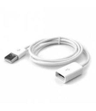 USB Verlengkabel 1m - Wit