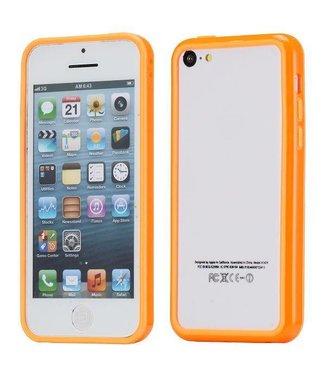 ZWC TPU Bumper iPhone 5c - Oranje