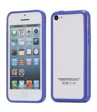 ZWC TPU Bumper iPhone 5c - Blauw