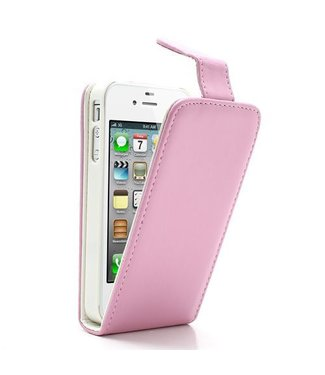 Flip case roze iPhone 4/4s