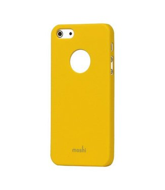 Moshi Moshi Rubbercoated iPhone 5/5S Case Geel