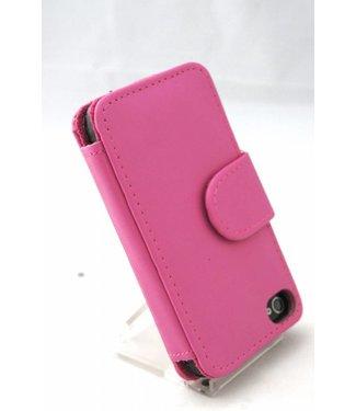 Armanth roze faux leren wallet voor iPhone 4 en 4S