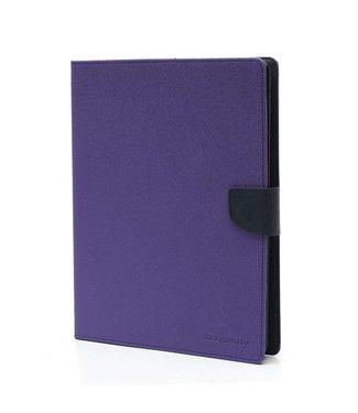 Goospery PU Lederen Wallet Hoes voor iPad 2/3/4 - Blauw - Paars