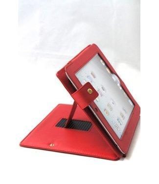 TVC PU Lederen Hoes voor iPad 2 3 4 - Rood