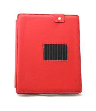 ZWC PU Lederen Hoes voor iPad 2 3 4 - Rood