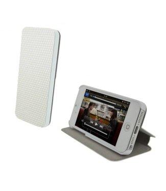 Icarer Stand/ Flip Case iPhone 5 Wit