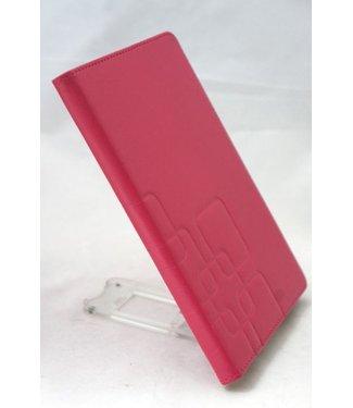 ZWC PU Lederen Hoes voor iPad Mini - Roze