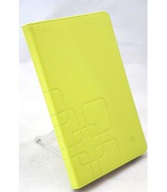 ZWC PU Lederen Hoes voor iPad Mini - Groen