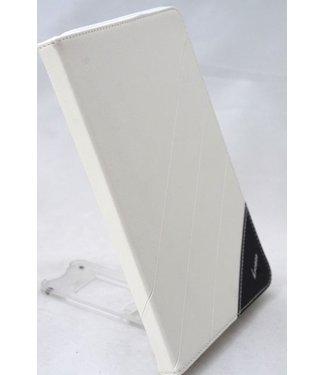 ZWC PU Lederen Hoes voor iPad Mini - Wit