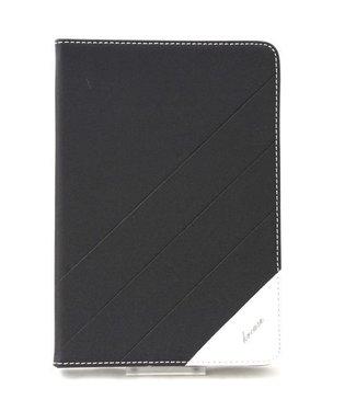 ZWC PU Lederen Hoes voor iPad Mini - Zwart