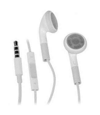 Mobiparts Apple Origineel Mobiparts Oordopjes + Remote - Wit