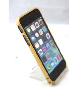 ZWC 0.7mm Ultra dun Aluminium Bumper voor iPhone 5(s) / SE 2016 - goud