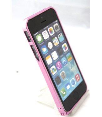 ZWC 0.7mm Ultra dun Aluminium Bumper voor iPhone 5(s) / SE 2016 - roze