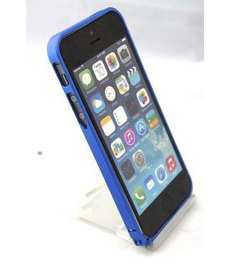 0.7mm Ultra dun Aluminium Bumper voor iPhone 5 5s blauw