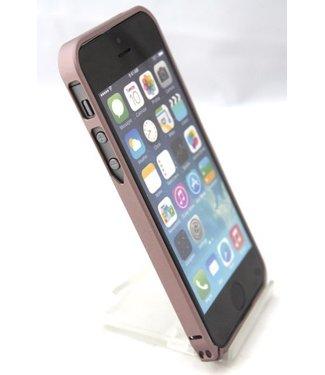 0.7mm Ultra dun Aluminium Bumper voor iPhone 5 5s bruin