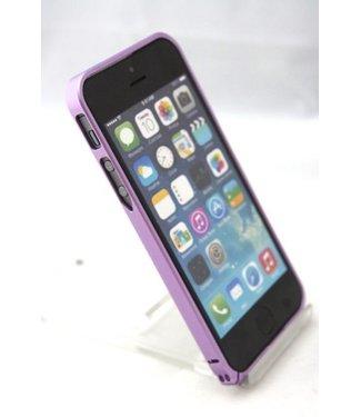 ZWC 0.7mm Ultra dun Aluminium Bumper voor iPhone 5(s) / SE 2016 - paars