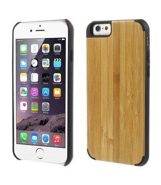Houten Hardcase iPhone 6(s) - Bamboe