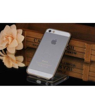 Metalen bumper voor iphone 6 4,7 inch -Zwart