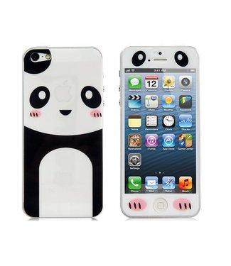 Panda voor & achter Sticker iPhone 5(s) en SE