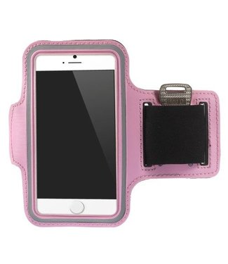 Sport Armband Case Cover voor iPhone 5 , SE- Roze