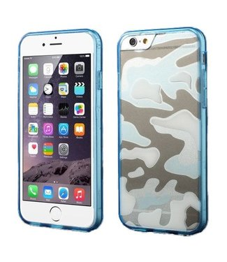 TVC Army TPU/PC Hardcase iPhone 6(s) plus - Blauw