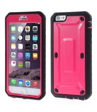 ZWC Hybride Bescherming PC/TPU Hardcase iPhone 6(s) plus - Roze