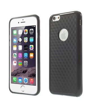 ZWC Cube PC/TPU Softcase iPhone 6(s) plus - Zwart