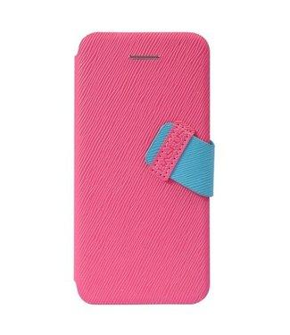 Baseus Baseus PU Leren Wallet iPhone 5c - Roze
