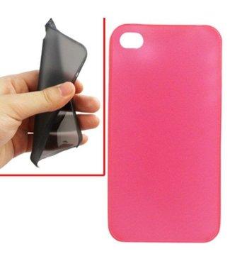 0,2 mm ultradunne case - grijs/transparant