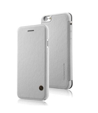 G-Case G-Case PU Leren Wallet iPhone 6(s) plus - Wit