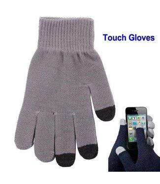 Touch Handschoenen Universeel - Grijs