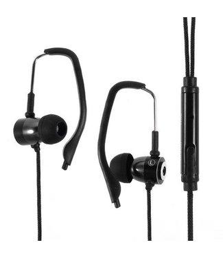 Oordopjes Sport stereo Met Microfoon voor iPhone - Zwart