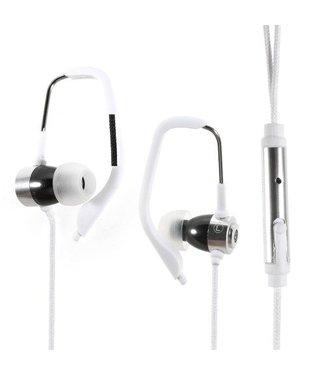 Oordopjes Sport Stereo Met Microfoon voor iPhone - Wit