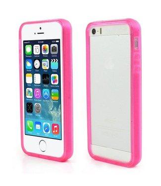 iPhone 5(s)/SE Soft TPU Bumper - Roze