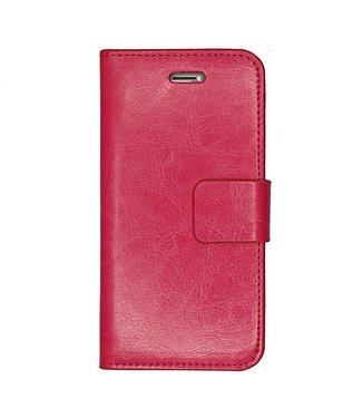Mjoy Mjoy Leren Magnetische Wallet iPhone 6(s) plus - Roze