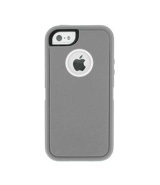Mjoy Mjoy Defender iPhone 5(s)/SE - Grijs