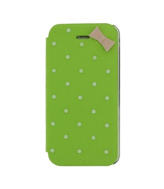 Mjoy Booklet Lucy Mjoy iphone 5(s)/SE 2016 -Groen