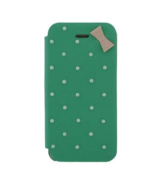 Mjoy Booklet Lucy Mjoy iphone 5(s)/SE - Blauw/groen