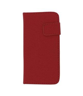 Mjoy Mjoy Wallet Case iPhone 5(s)/SE (2016)- Roze
