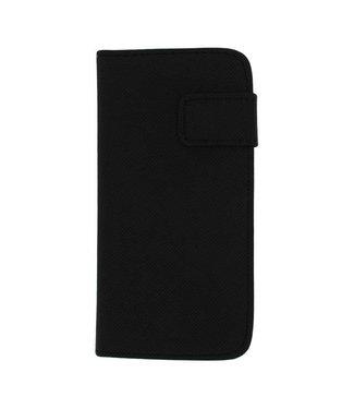Mjoy Mjoy PU Leren Wallet iPhone 5c - Zwart