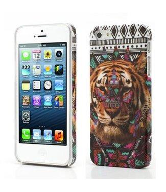 Icarer iPhone 5/5S Hardcase - tijger