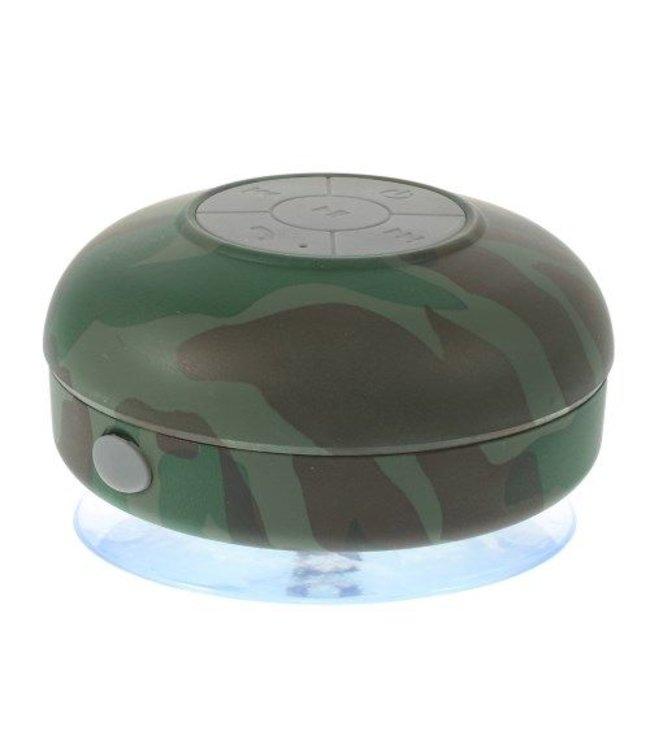 Waterproof Bluetooth Speaker + Microfoon - Camouflage