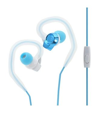 Oordopjes Sport Stereo Met Microfoon voor iPhone - Blauw