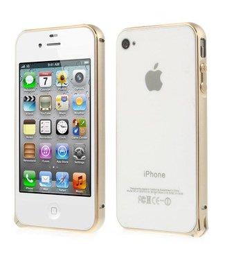 Bumper iphone 4/4s Aluminium - goud