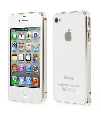 Bumper iphone 4/4s Aluminium - zilver