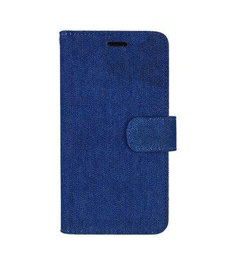 Mjoy Mjoy Spijkerstof Wallet iPhone 6(s) plus - Blauw