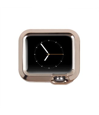Apple Watch Beschermende TPU Cover (38mm) - Champagne